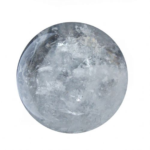 Rock Quartz Crystal Ball Scrying Gazing Fortune Telling Sphere 57mm 260g CB31